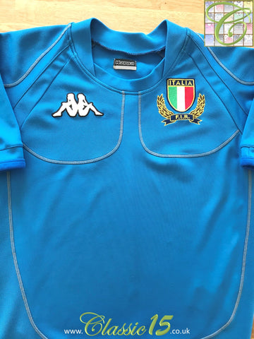 2003/04 Italy Home Rugby Shirt (S)