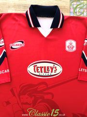 1998/99 Llanelli RFC Home Rugby Shirt (XL)