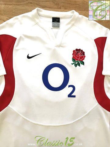 2005/06 England Home Pro-Fit Rugby Shirt (M)