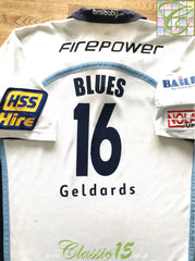 2006/07 Cardiff Blues Away Match Issue Rugby Shirt #16 (XL)