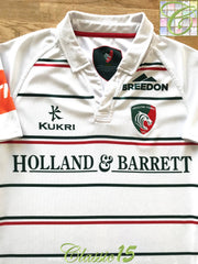 2017/18 Leicester Tigers Away Pro-Fit Rugby Shirt (M)