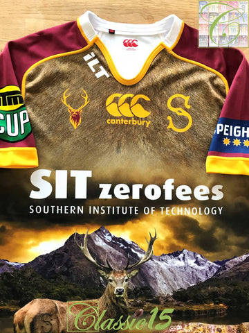 2014 Southland Stags Away ITM Cup Rugby Shirt (XXL)
