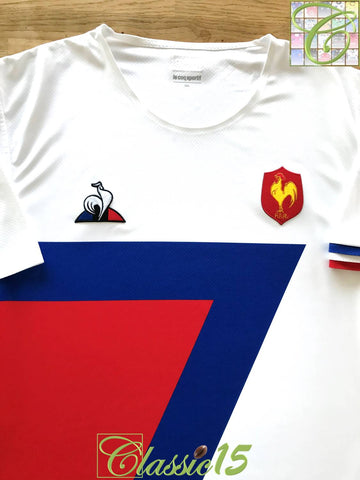 2018/19 France Away Pro-Fit Rugby Sevens Shirt (3XL)