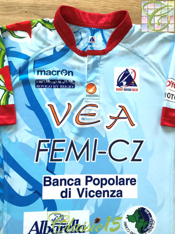 2013/14 Rovigo Delta Away Rugby Shirt (3XL)