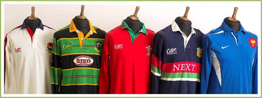 Old Classic Rugby Shirts