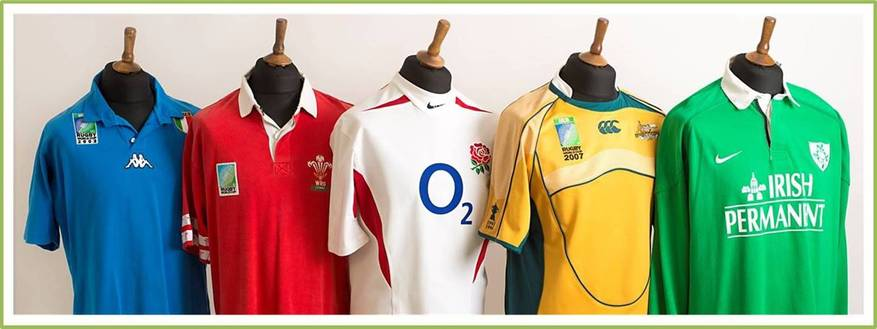 Old Vintage Rugby Shirts