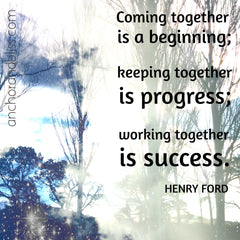 Coming together quote from Henry Ford