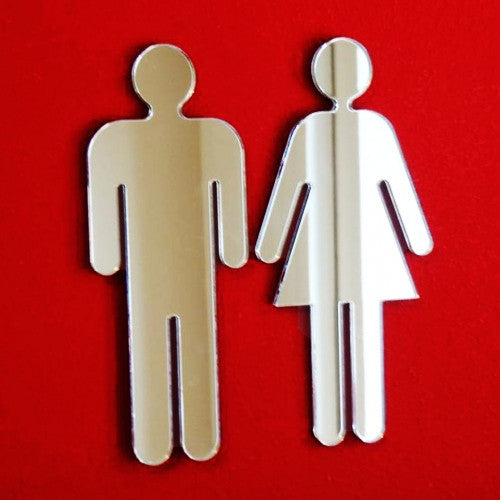 Male & Female Toilet Door Signs