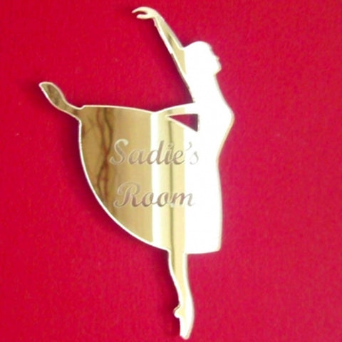 Personalised Ballerina Door Sign