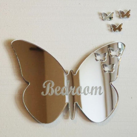 Personalised Butterflies out of Butterfly Door Sign