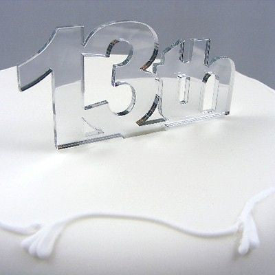 13th Birthday Cake Topper