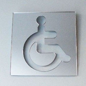 Square Disabled Toilet Sign
