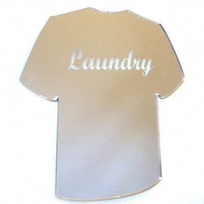 T-shirt Laundry Sign