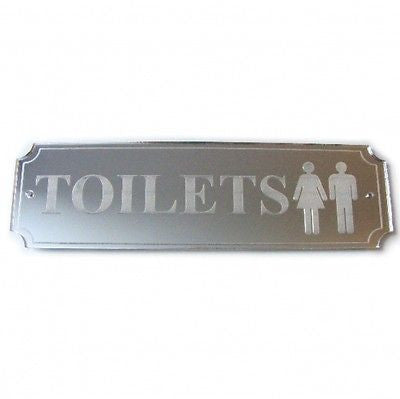 Toilets Plaque