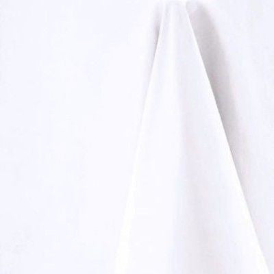 White Round Tablecloth