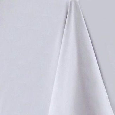 Light Grey Square Tablecloth