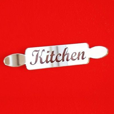Rolling Pin Kitchen Door Sign
