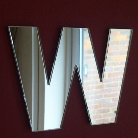 Contemporary Letter W