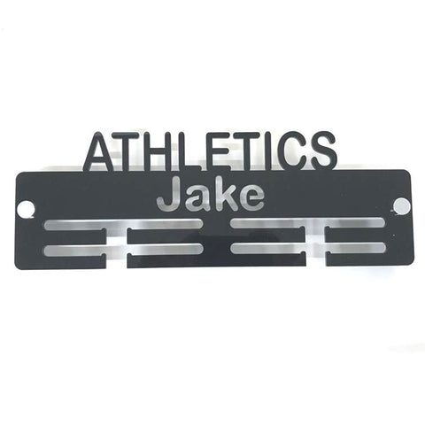 "Personalised ""Athletics"" Medal Hanger"