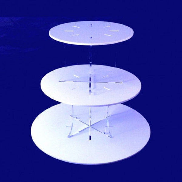 Three Tier Classic Design Round Cake Stand