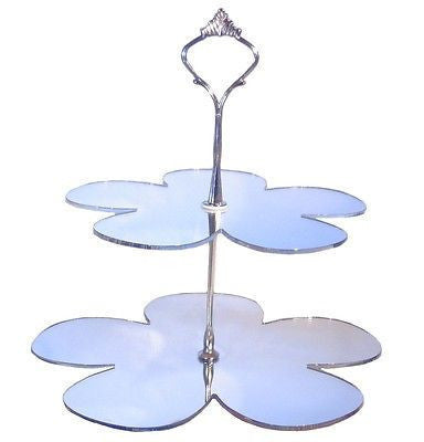 Two Tier Daisy Cake Stand