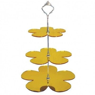 Three Tier Daisy Cake Stand