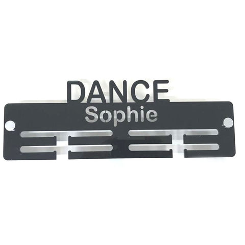 "Personalised ""Dance"" Medal Hanger"
