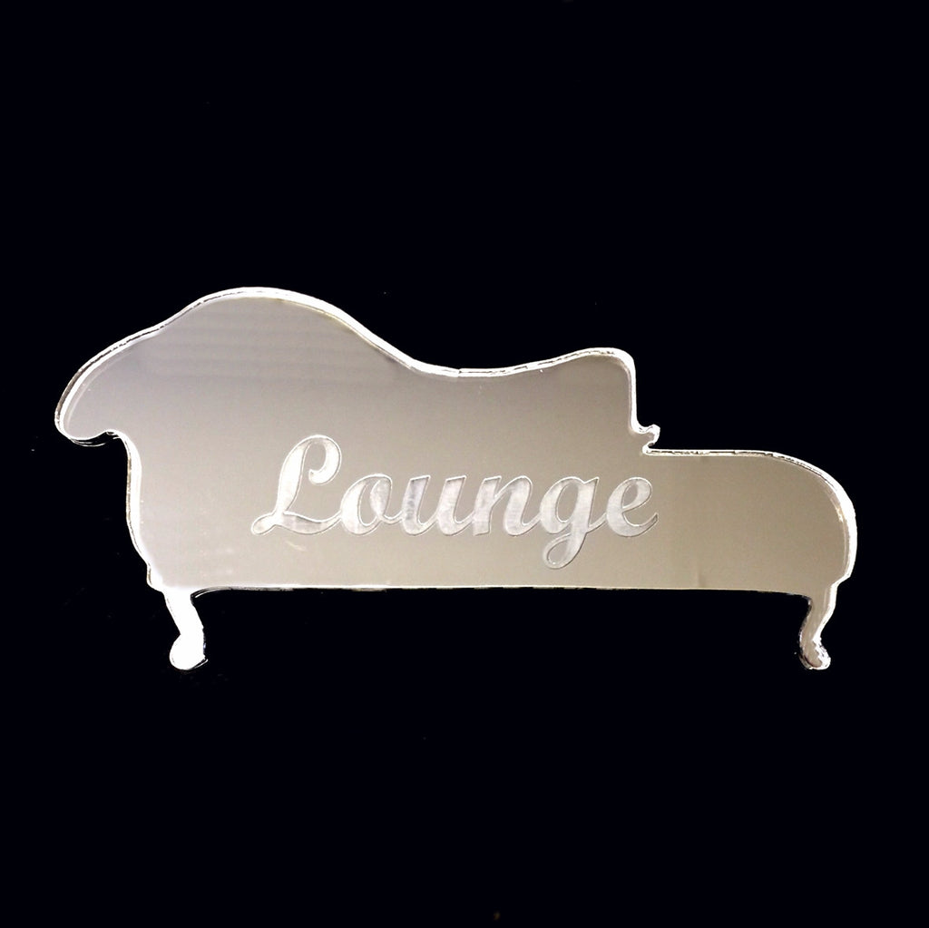 Engraved Lounge Door Sign