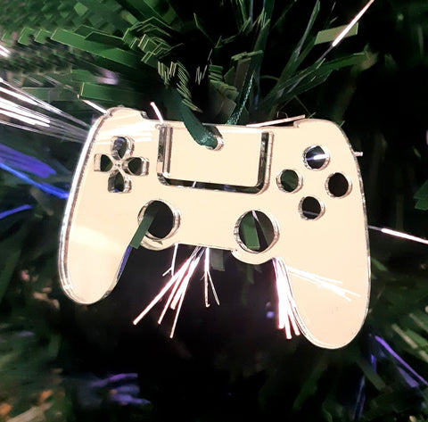 Game Controller Christmas Tree Decorations Mirrored