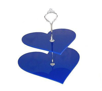 Two Tier Heart Cake Stand