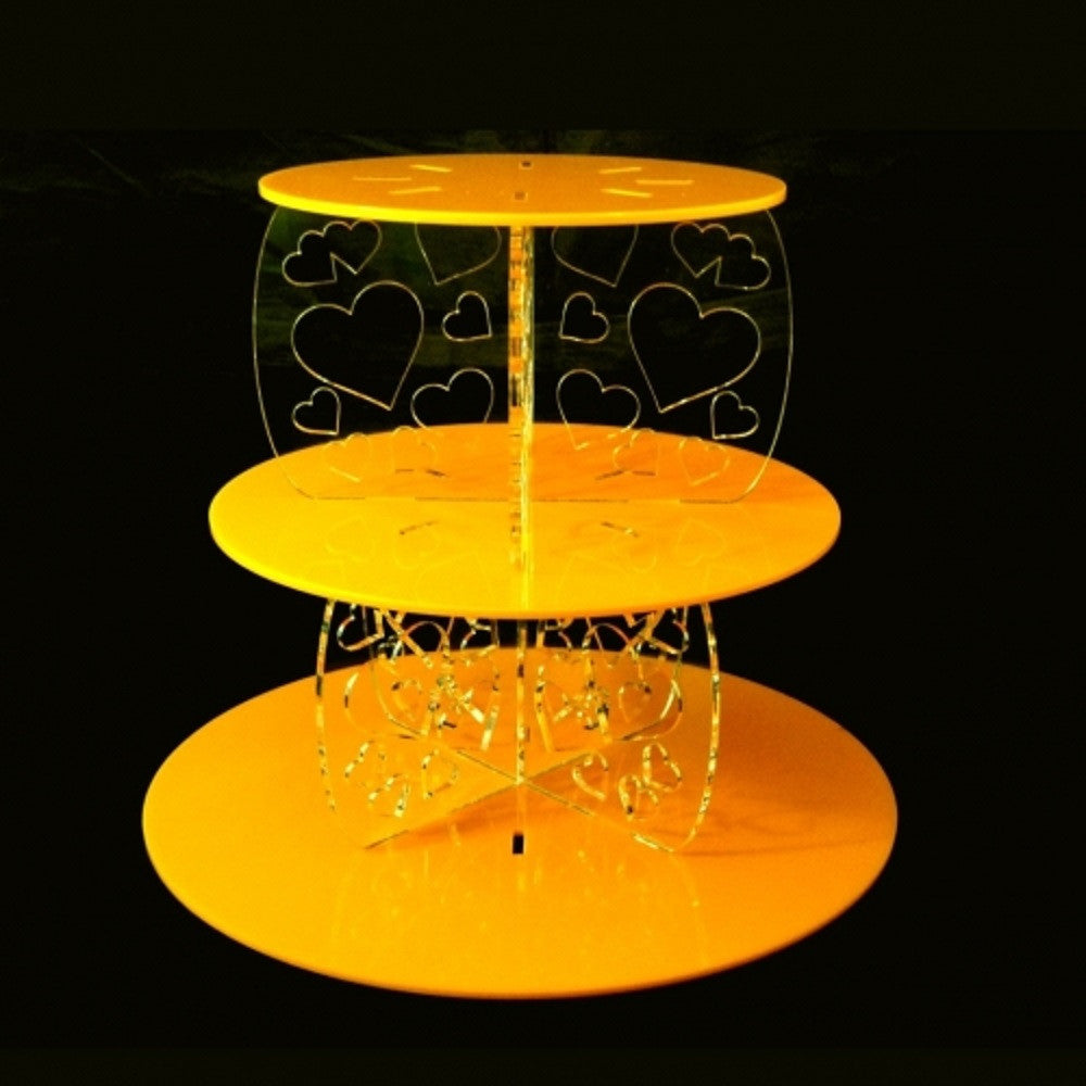 How To Put A Three Tier Cake Stand Together