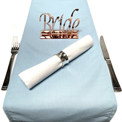Light Blue Table Runner
