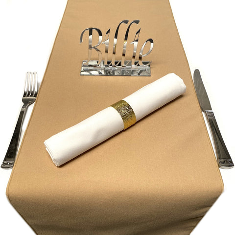 Light Brown Table Runner