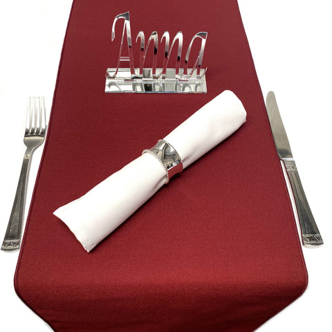 Maroon Table Runner