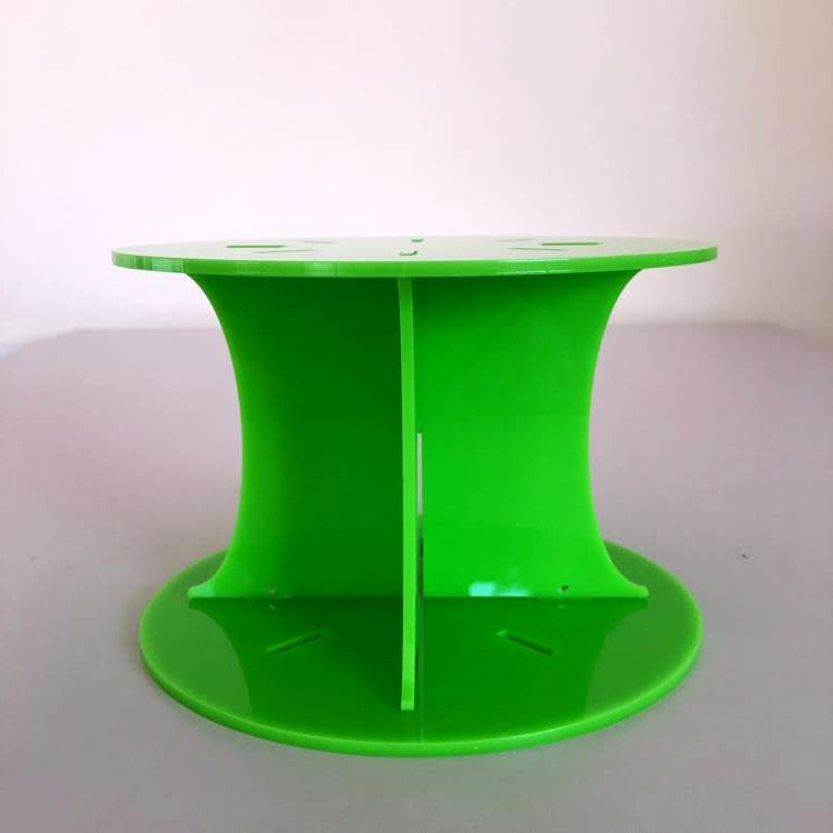 Classic Round Wedding/Party Cake Separator - Lime Green