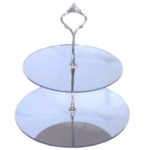 Two Tier Round Cake Stand