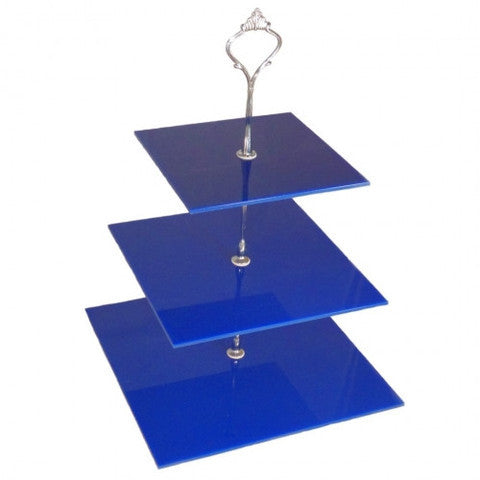 Three Tier Square Cake Stand