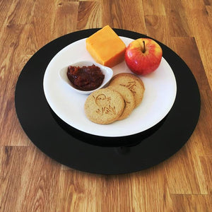 Black Acrylic Lazy Susan