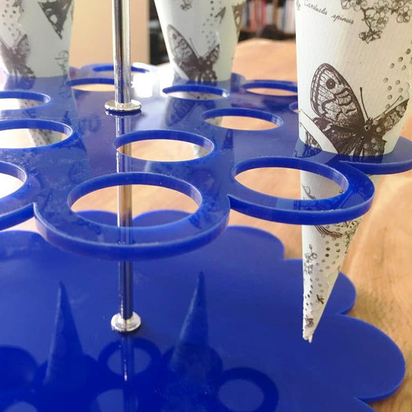 Wedding Favour Stand - Blue