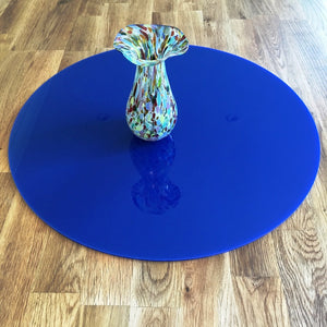 Round Worktop Saver - Dark Blue