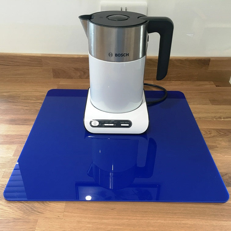 Square Worktop Saver - Dark Blue