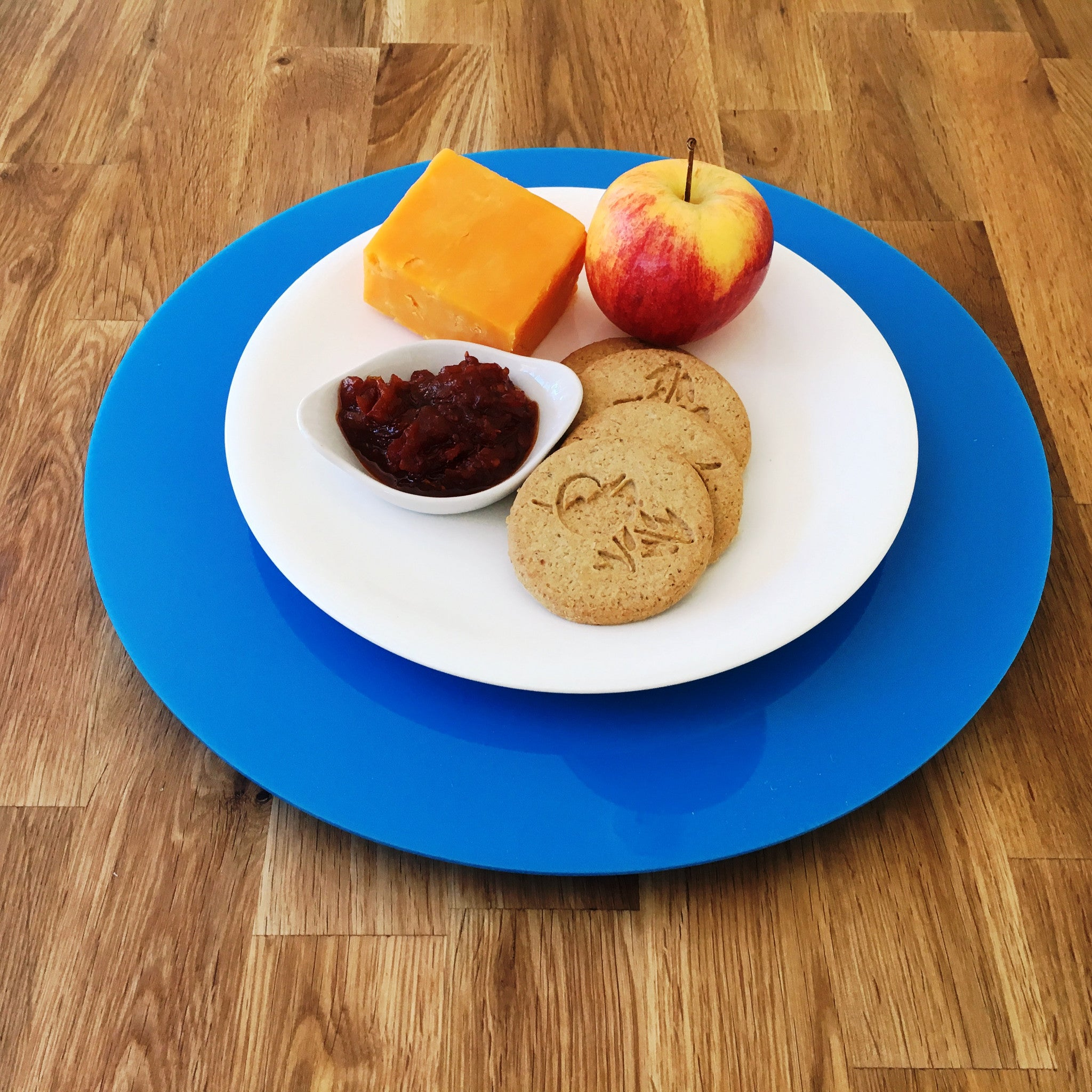 Bright Blue Acrylic Lazy Susan