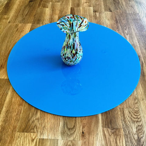 Round Worktop Saver - Bright Blue