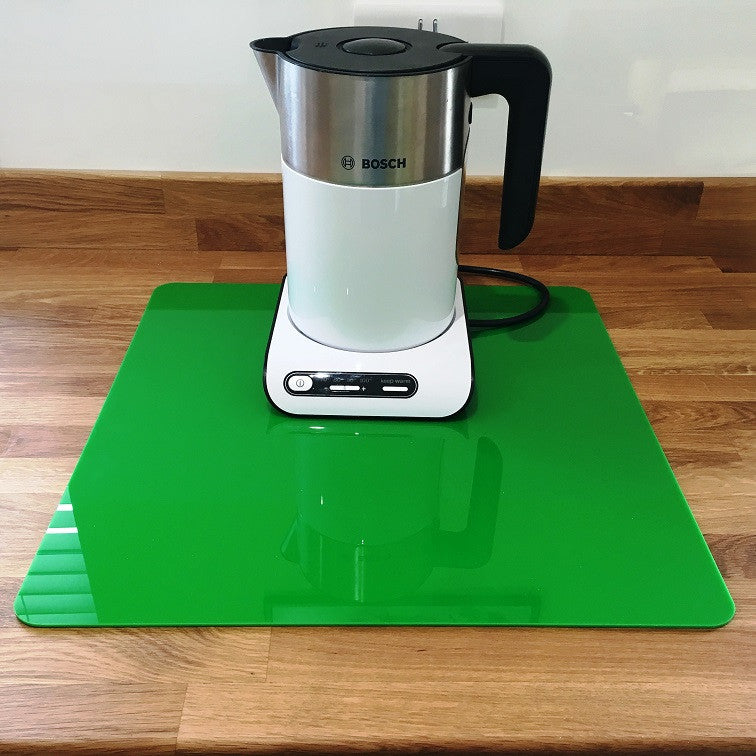 Square Worktop Saver - Bright Green