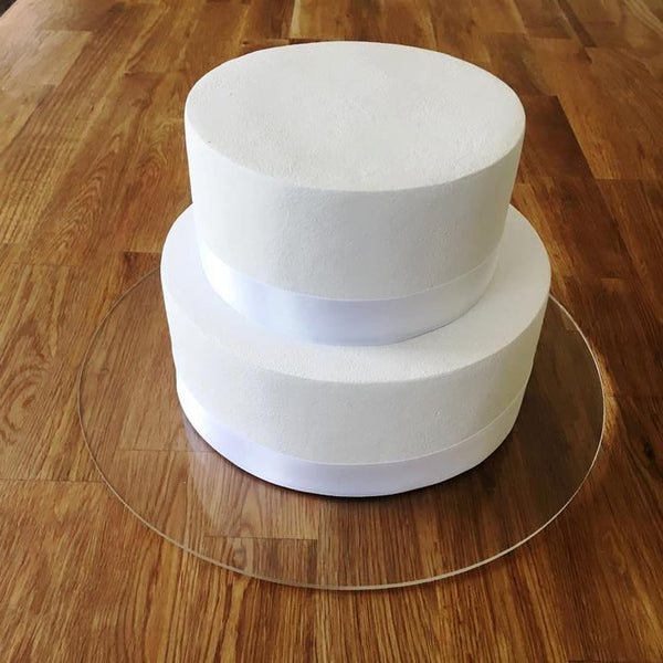 Round Cake Board - Clear