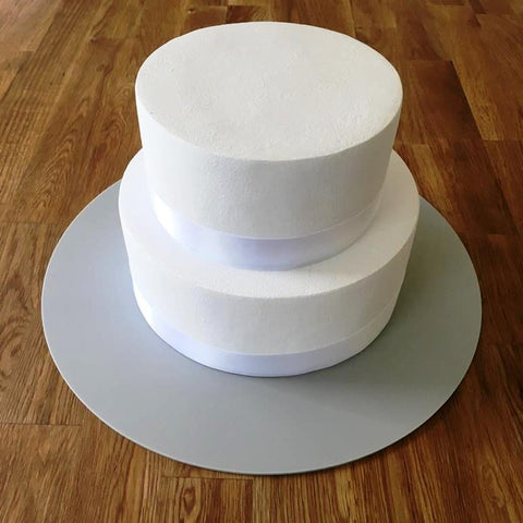 Round Cake Board - Light Grey