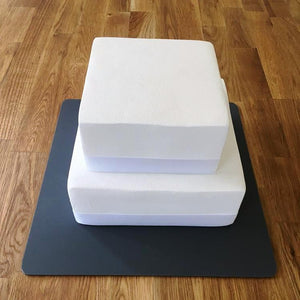 Square Cake Board - Graphite Grey