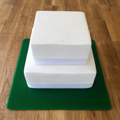 Square Cake Board - Green