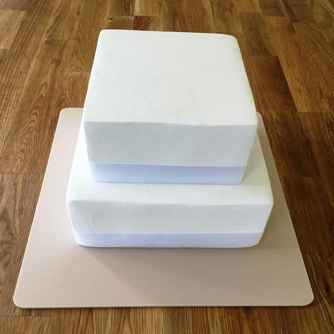 Square Cake Board - Latte
