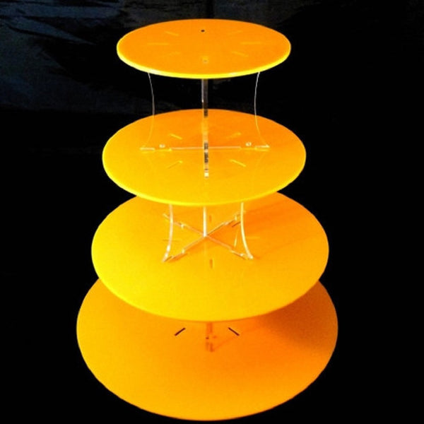 Four Tier Classic Round Cake Stand